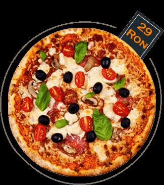Pizza Capricioasa - 600gr